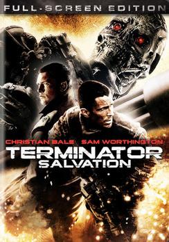 Terminator Salvation - Full Screen - DVD - Used