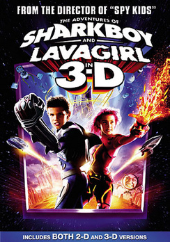 The Adventures of Shark Boy and Lava Girl - 3-D and 2-D - DVD - Used