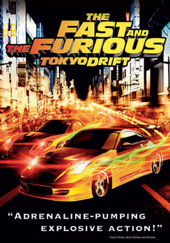The Fast & The Furious: Tokyo Drift - Widescreen - DVD - Used