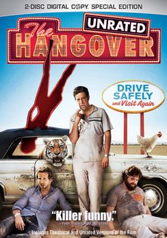 The Hangover - Unrated - DVD - Used