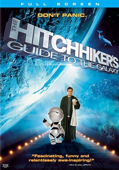 The Hitchhiker's Guide to the Galaxy - Full Screen - DVD - Used