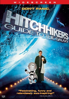 The Hitchhiker's Guide to the Galaxy - Widescreen - DVD - Used