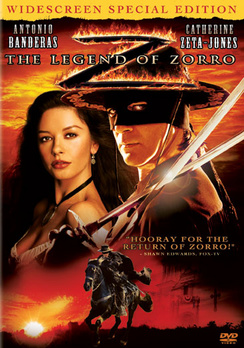 The Legend of Zorro - Widescreen Special Edition - DVD - Used
