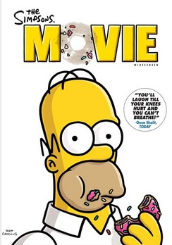The Simpsons Movie - Widescreen - DVD - Used