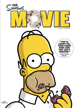 The Simpsons Movie - Full Screen - DVD - Used