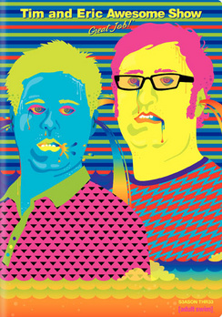 Tim & Eric Awesome Show, Great Job! Season 3 - DVD - Used