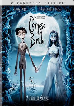 Tim Burton's Corpse Bride - Widescreen - DVD - Used