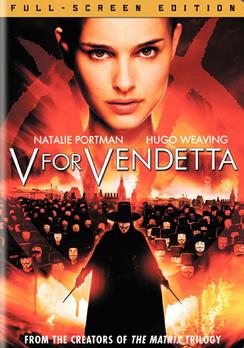 V for Vendetta - Full Screen - DVD - Used