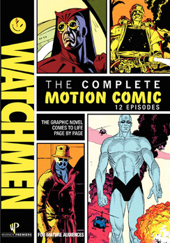 Watchmen: The Complete Motion Comic - DVD - Used