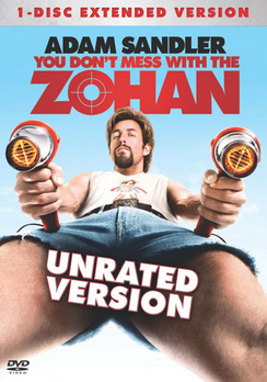 You Don't Mess With the Zohan - Unrated - DVD - Used