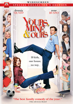 Yours, Mine & Ours - Widescreen Collector's Edition - DVD - Used