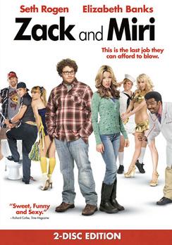 Zack and Miri Make a Porno - Conservative Box Art - DVD - Used