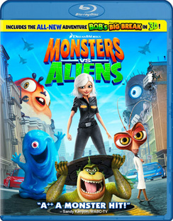 Monsters vs. Aliens - Blu-ray - Used