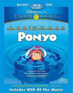 Ponyo - Includes DVD - Blu-ray - Used