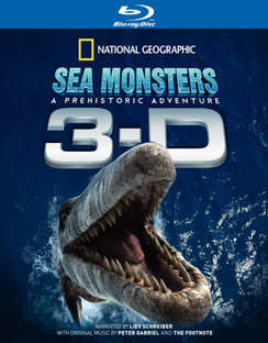 Sea Monsters, A Prehistoric Adventure (IMAX) - 3-D - Blu-ray - Used