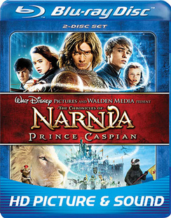 The Chronicles of Narnia: Prince Caspian - Blu-ray - Used
