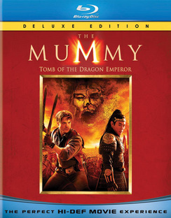 The Mummy: Tomb of the Dragon Emperor - Deluxe Edition - Blu-ray - Used