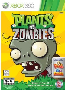Plants vs Zombies - XBOX 360 - New