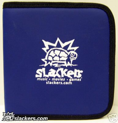 Blue Slackers Logo 32 Disc CD Wallet - Music Accessory - New