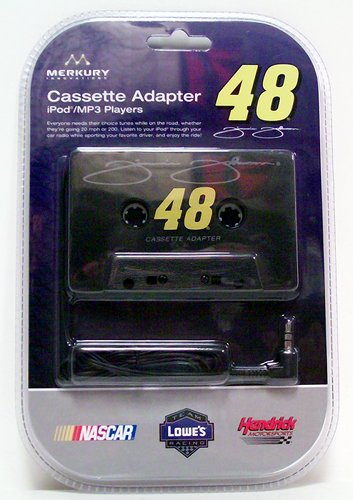 Nascar Cassette Tape Adapter 48 Jimmie Johnson - Music Accessory - New