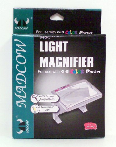 2 in 1 Light and Magnifier for Game Boy Color - Game Accessory - New