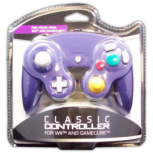 Classic Controller for GameCube and Wii (purple) - Game Accessory - New