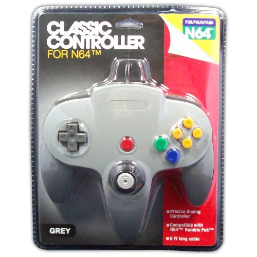 Classic Controller for N64 (grey) - Game Accessory - New