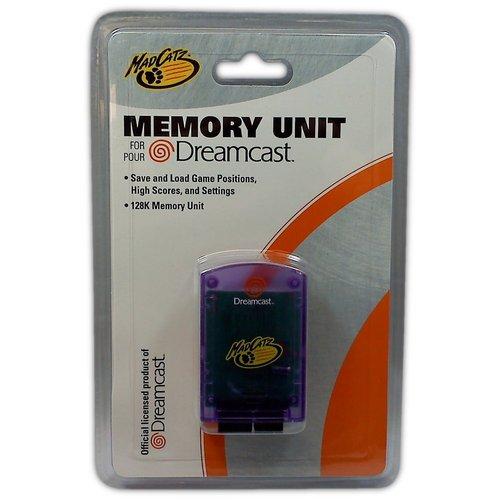 MadCatz Memory Unit for Dreamcast (Purple) - Game Accessory - New