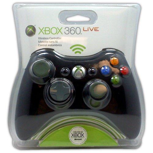Microsoft Wireless Controller for XBOX 360 (Black) - Game Accessory - New