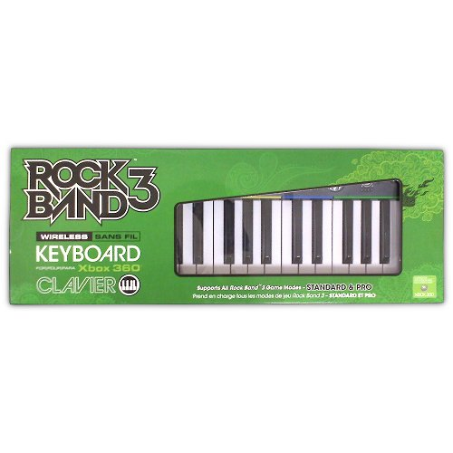 Rock Band 3 Wireless Keyboard for XBOX 360 - Game Accessory - New