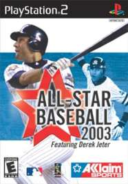 All-Star Baseball 2003 - PS2 - Used