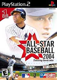 All-Star Baseball 2004 - PS2 - Used
