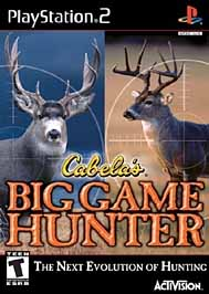 Cabela's Big Game Hunter - PS2 - Used