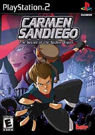 Carmen Sandiego: The Secret of the Stolen Drums - PS2 - Used