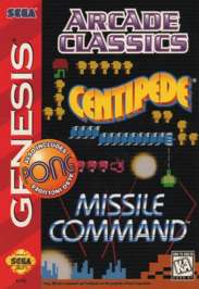 Arcade Classics - Sega Genesis - Used