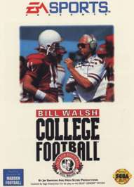 Bill Walsh College Football - Sega Genesis - Used