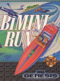 Bimini Run - Sega Genesis - Used