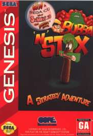 Bubba 'n' Stix - Sega Genesis - Used