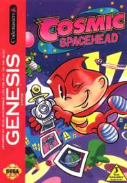 Cosmic Spacehead - Sega Genesis - Used