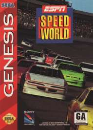 ESPN Speed World - Sega Genesis - Used