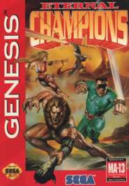 Eternal Champions - Sega Genesis - Used