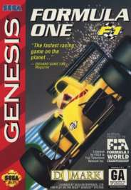 Formula One - F1 - Sega Genesis - Used