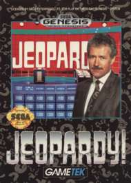 Jeopardy! - Sega Genesis - Used