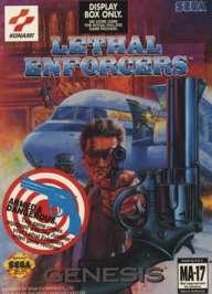 Lethal Enforcers - Sega Genesis - Used