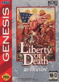 Liberty or Death - Sega Genesis - Used