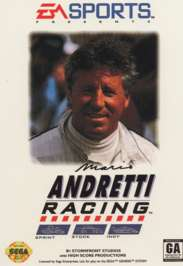 Mario Andretti Racing - Sega Genesis - Used