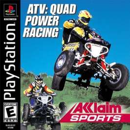 ATV Quad Power Racing - PlayStation - Used