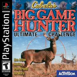 Cabela's Big Game Hunter: Ultimate Challenge - PlayStation - Used