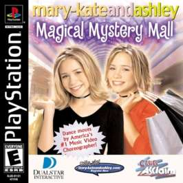 Mary-Kate & Ashley's Magical Mystery Mall - PlayStation - Used