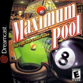 Maximum Pool - Dreamcast - Used